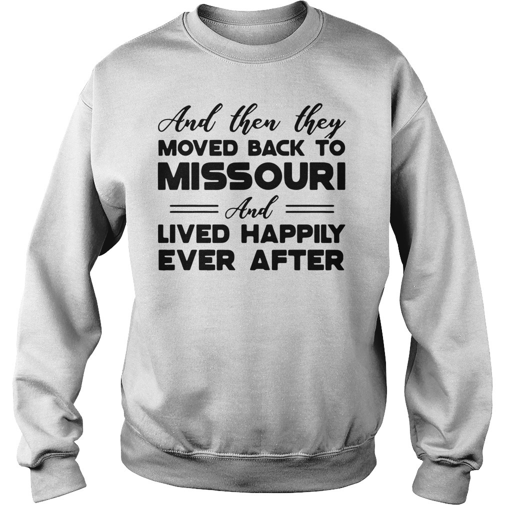 Moved back to Missouri Sweater