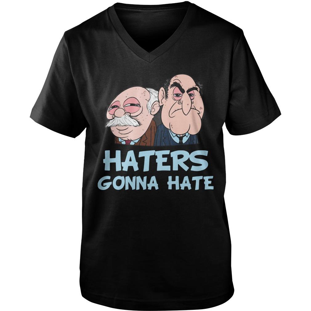 Muppets haters gonna hate Guy V-Neck