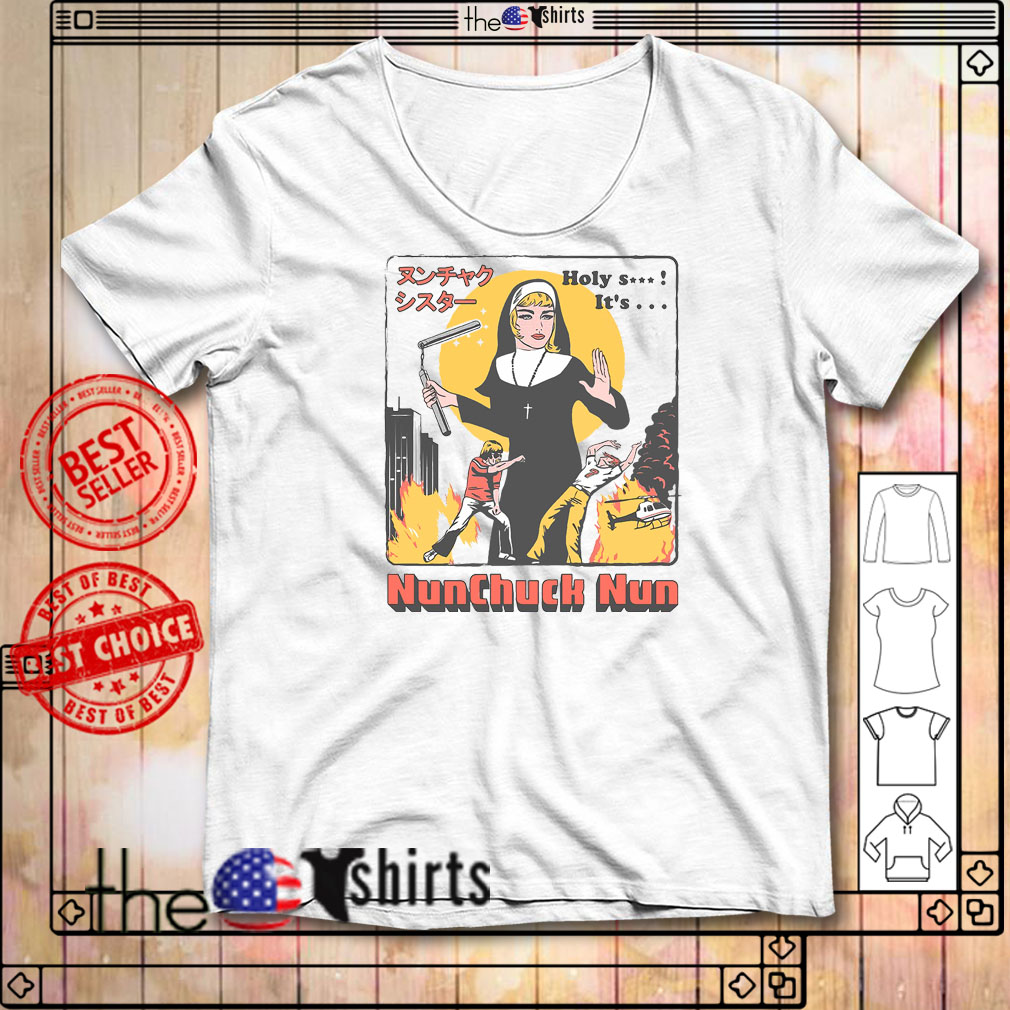 Nunchuck Nun Tarantino shirt