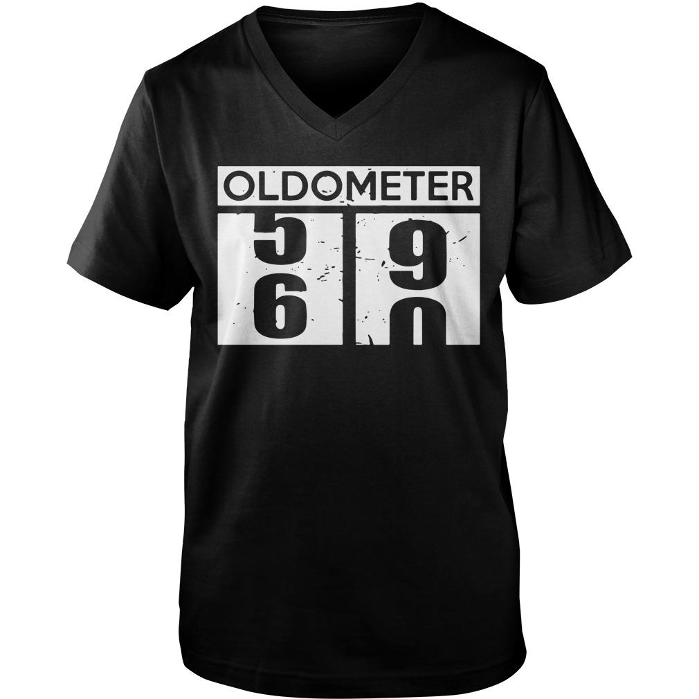 Oldometer 56 90 Guy V-Neck