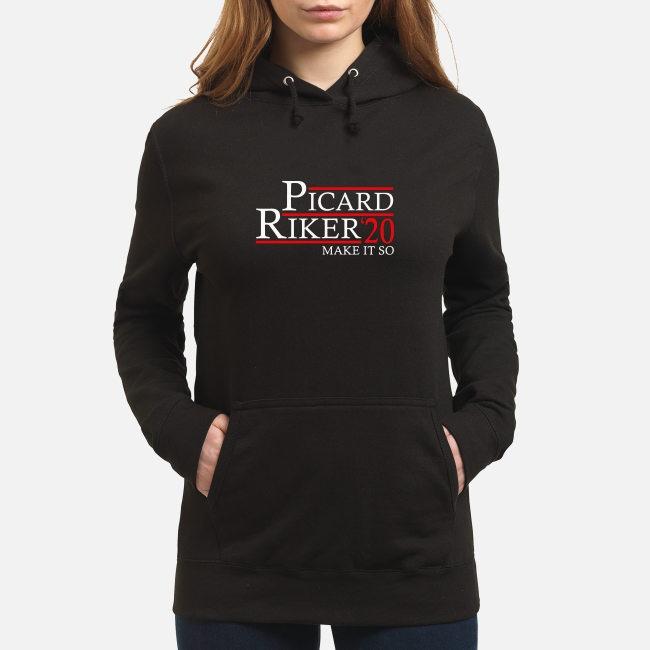 Picard Riker'20 make it so Hoodie