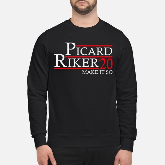 Picard Riker'20 make it so Sweater