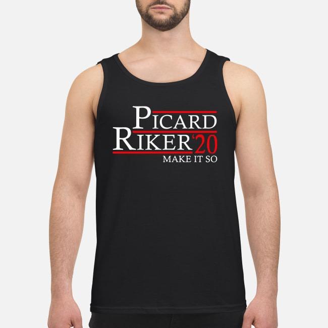 Picard Riker'20 make it so Tank top