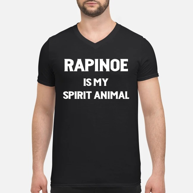 Rapinoe is my spirit animal V-neck T-shirt