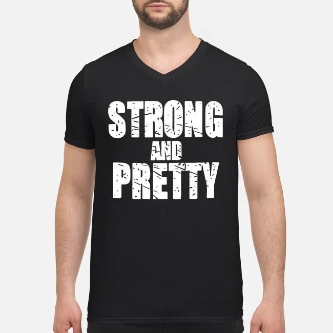 Robert Oberst Strong and Pretty V-neck T-shirt