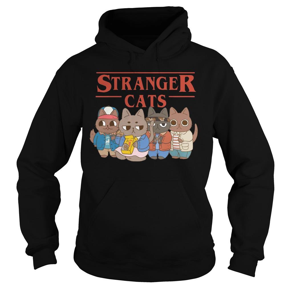 Stranger Cats Stranger Thing cats shirt