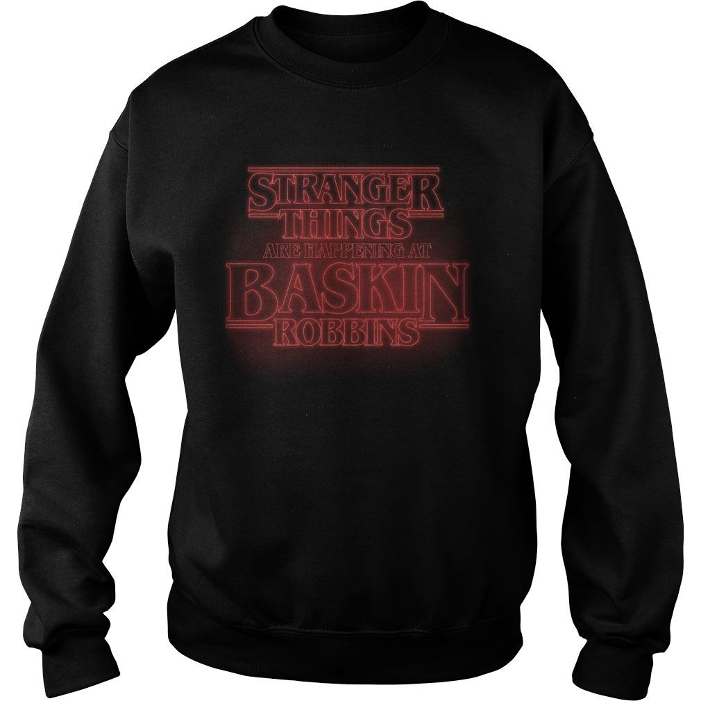 Stranger Things season 3 are happening at Baskin Robbins Sweater