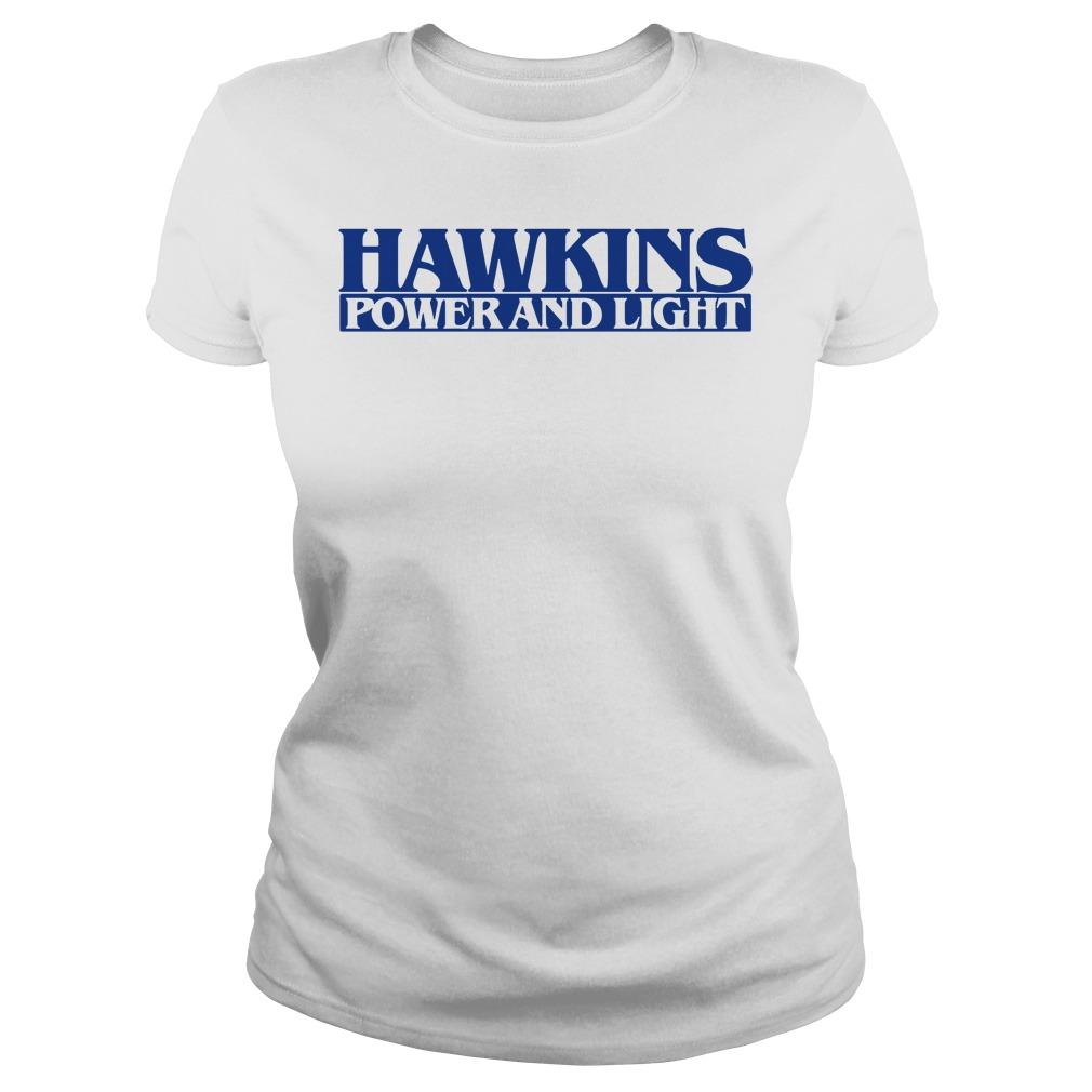 Stranger Things season 3 Hawkins Ladies Tee