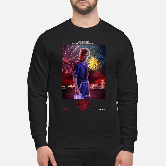 Stranger Things season 3 Steve Harrington one summer can change everything Sweater