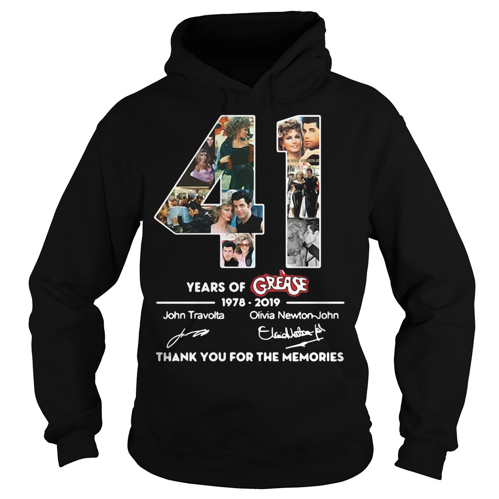 Thank you for the memories 41 Years of Grease 1978-2019 Hoodie