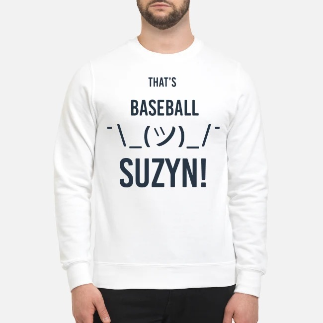 That's Baseball Suzyn Sweater