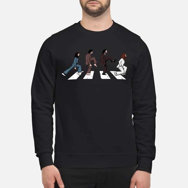 The Beatles Abbey road silly walks Sweater
