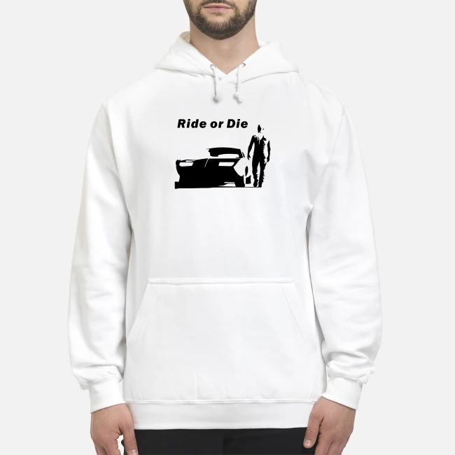 The Fast and Furious Dominic Toretto Ride or die Hoodie