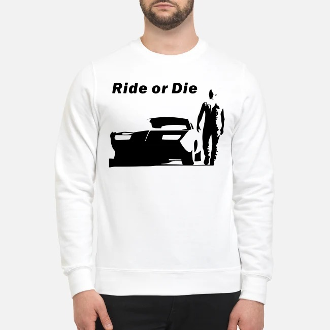 The Fast and Furious Dominic Toretto Ride or die Sweater