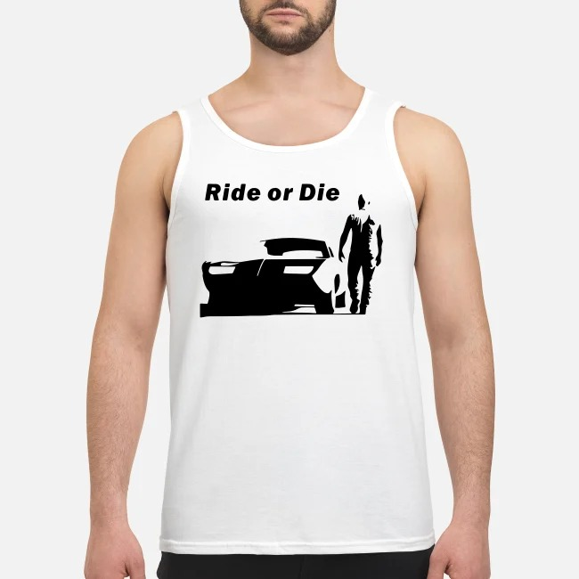 The Fast and Furious Dominic Toretto Ride or die Tank top