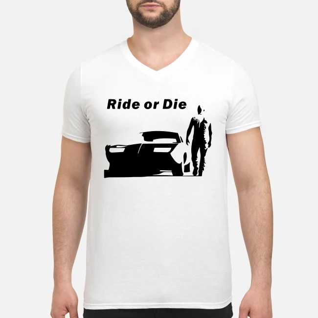 The Fast and Furious Dominic Toretto Ride or die V-neck T-shirt