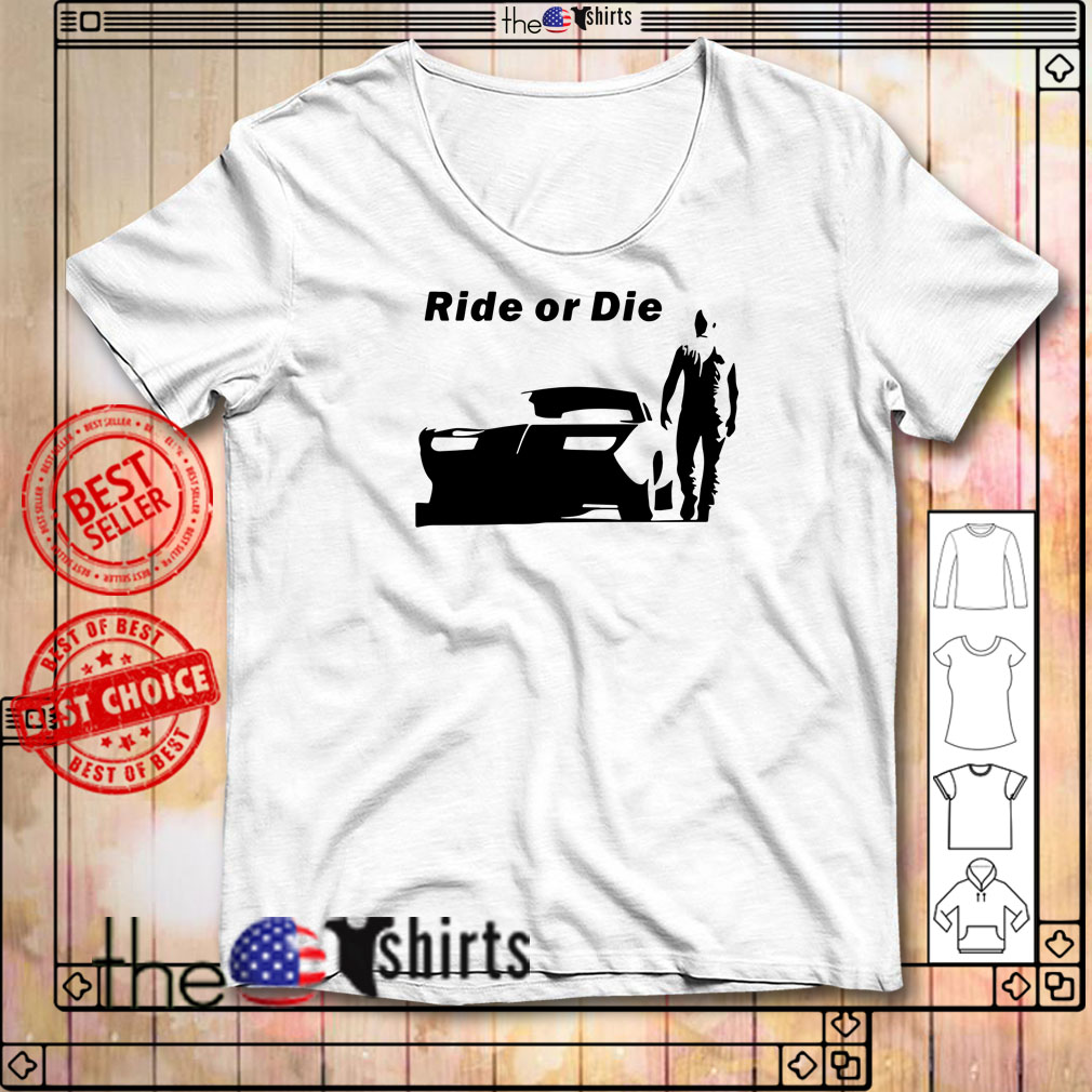 The Fast and Furious Dominic Toretto Ride or die shirt
