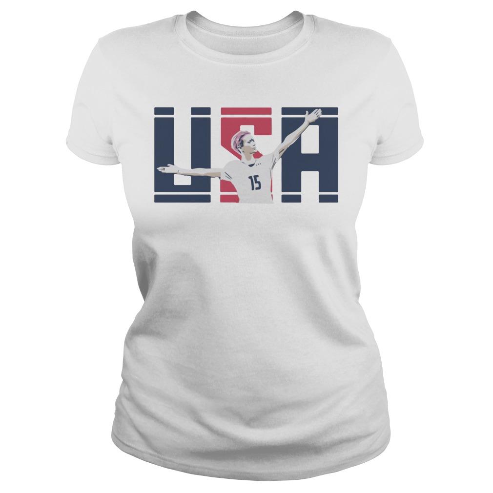 USA Megan Rapinoe 15 Ladies Tee