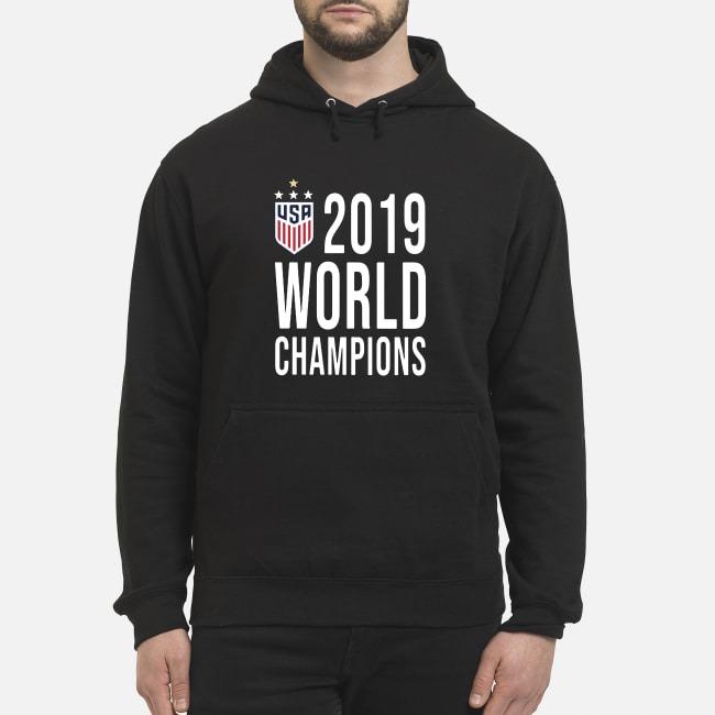 Women Soccer USA 2019 world champions Hoodie