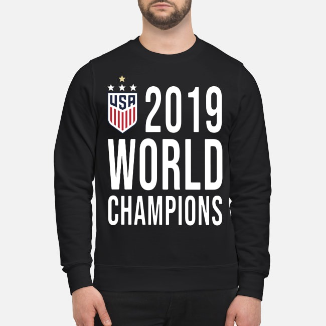 Women Soccer USA 2019 world champions Sweater