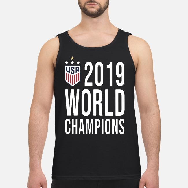 Women Soccer USA 2019 world champions Tank top