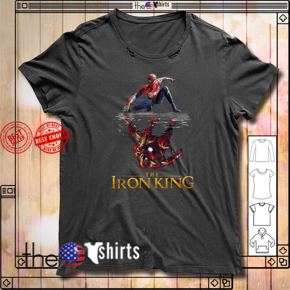Spider Man Iron Man The Iron King shirt