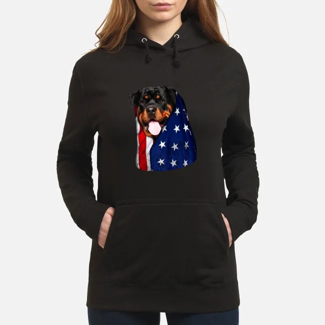 4th July independence day Rottweiler Hoodie