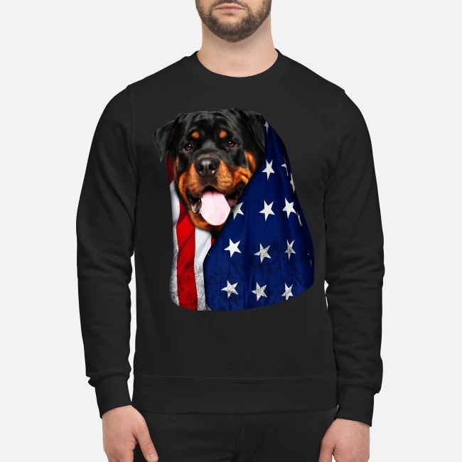 4th July independence day Rottweiler Sweater
