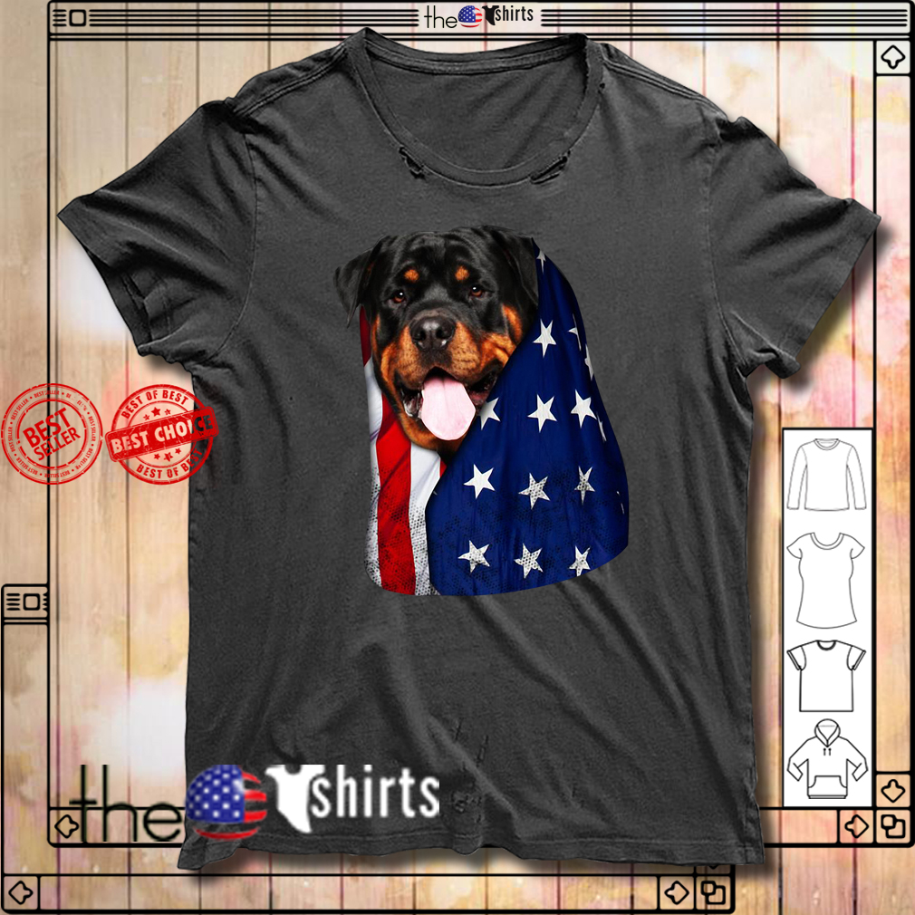 4th July independence day Rottweiler shirt