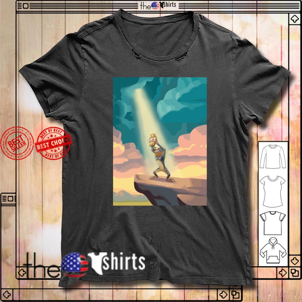 The Lion King Rafiki and Simba shirt