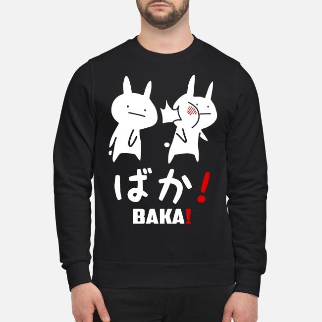 Anime baka rabbit slap Japanese Sweater