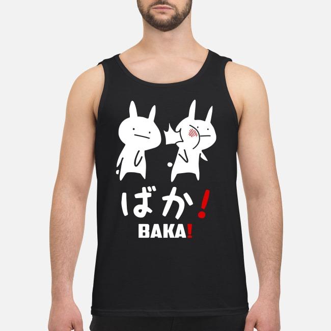 Anime baka rabbit slap Japanese Tank top