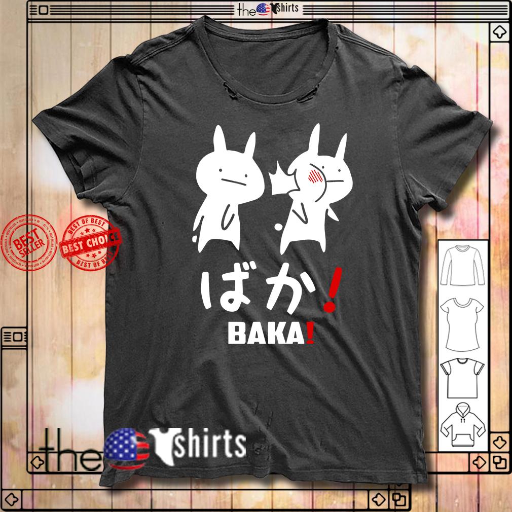 Anime baka rabbit slap Japanese shirt