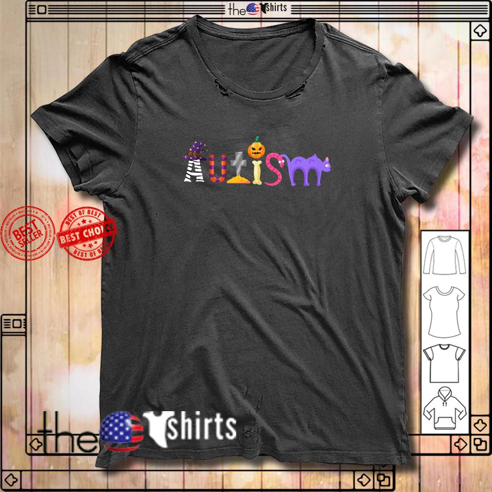 Autism Halloween shirt