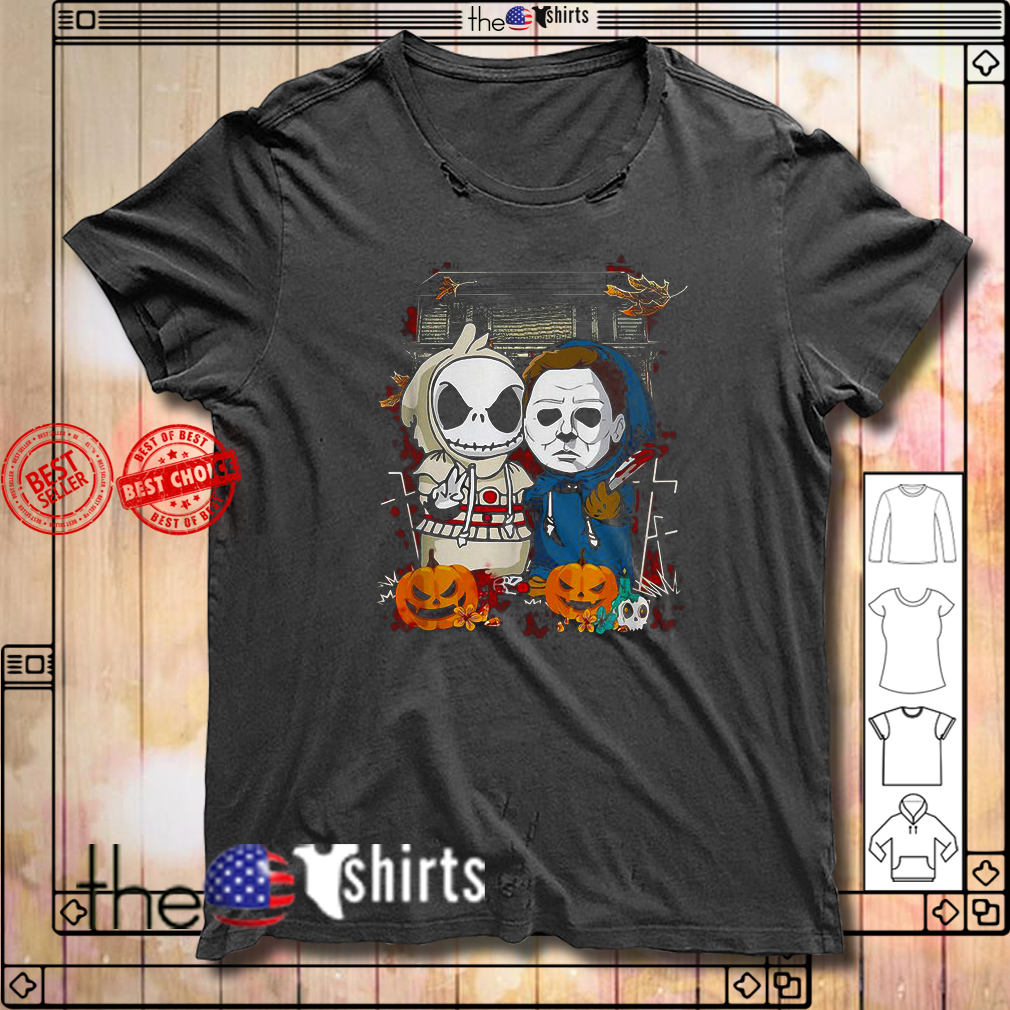Baby Jack Skellington Michael Myers Halloween shirt