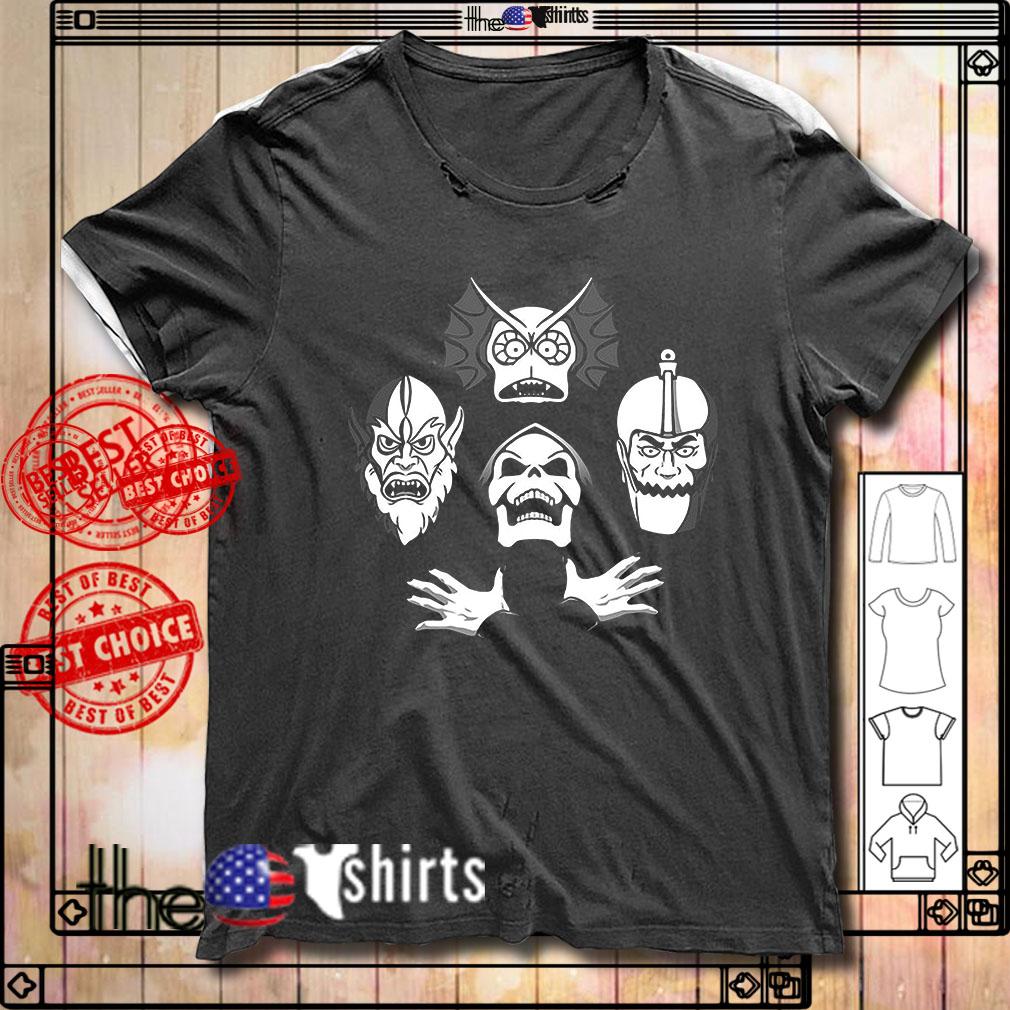 Bohemian Rhapsody Skelet Skull shirt