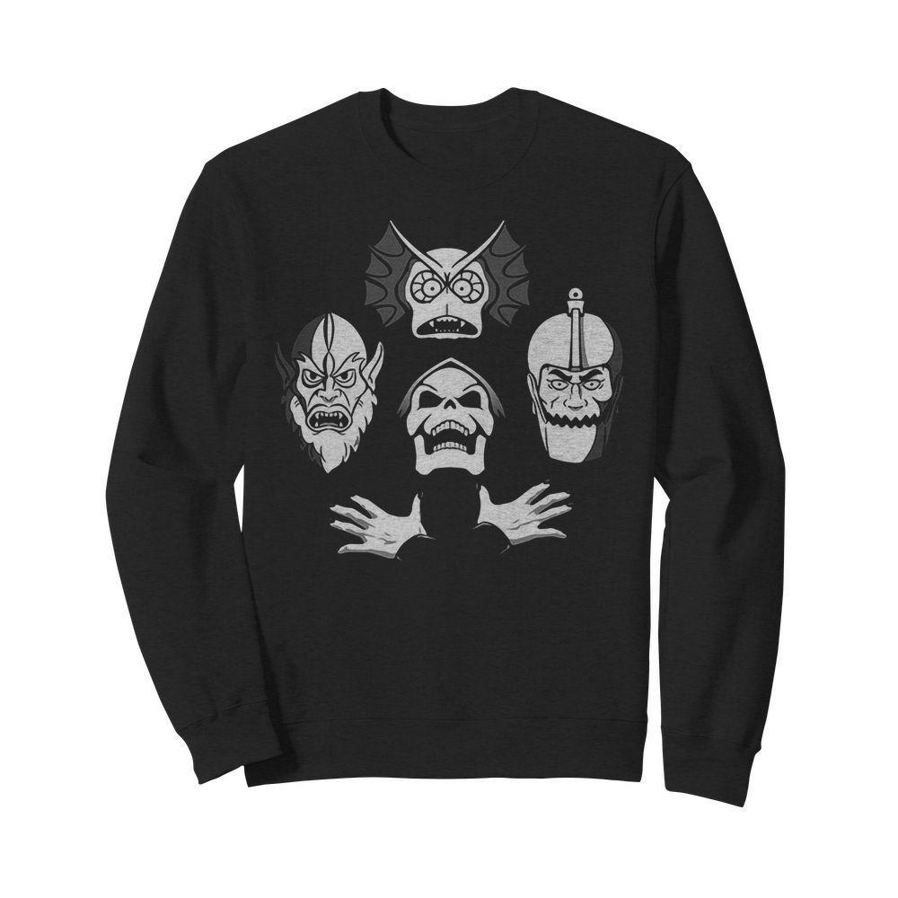 Bohemian Rhapsody Skeleton Skull Sweater