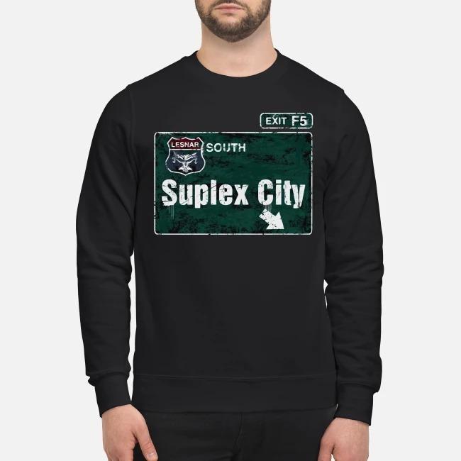 Brock Lesnar Suplex City Sweater