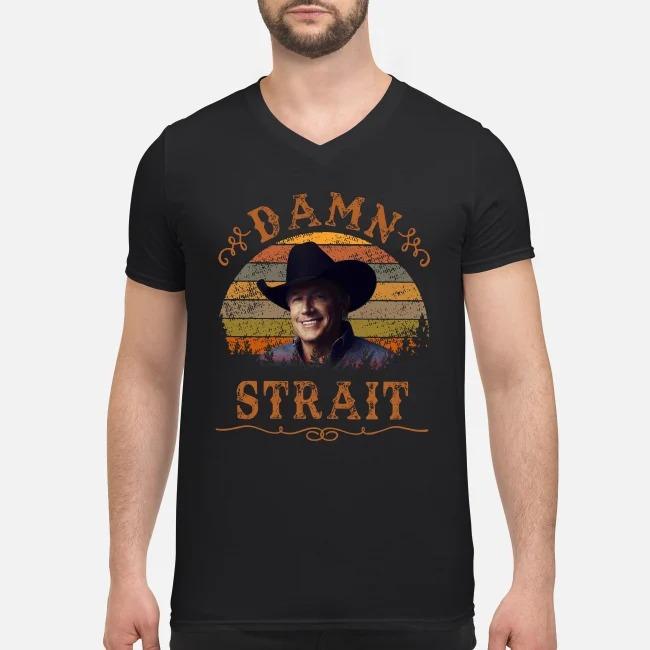 Damn Strait Granger Smith vintage V-neck T-shirt