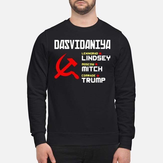 Dasvidaniya Leningrad Lindsey Moscow Mitch Comrade Trump Sweater