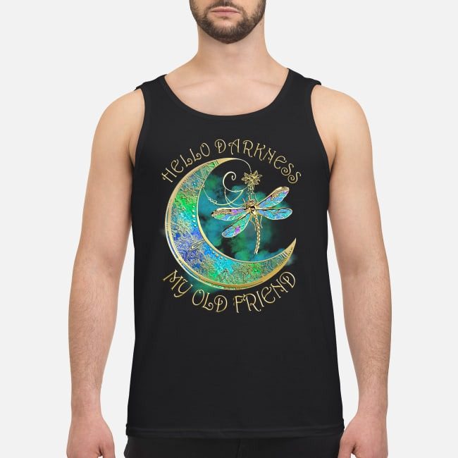 Dragonfly hello darkness my old friend Tank top