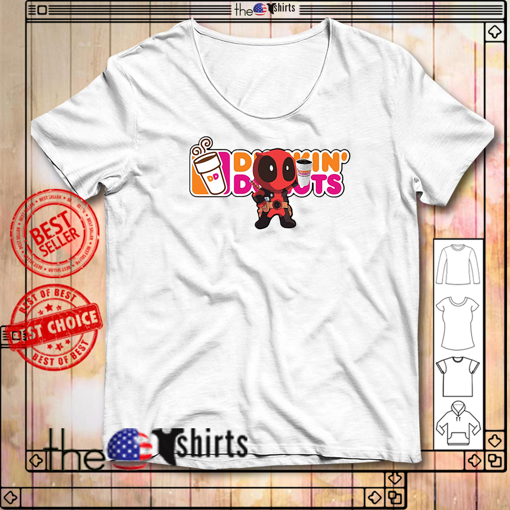 Dunkin' Donuts Deadpool version shirtDunkin' Donuts Deadpool version shirt