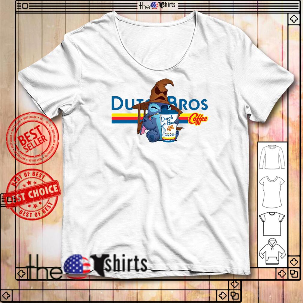 Dutch Bros Coffee Stitch Halloween version shirt