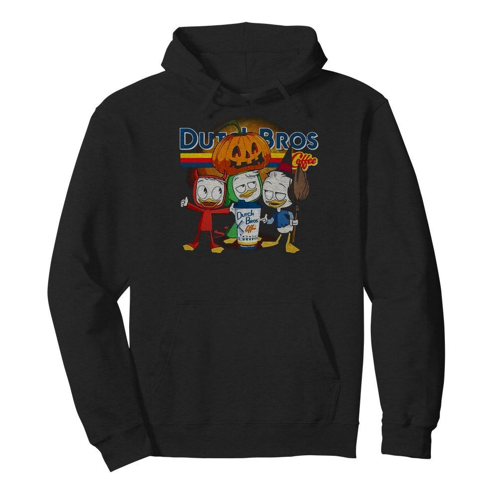 Dutch Bros Coffee Three Caballeros Halloween version Hoodie