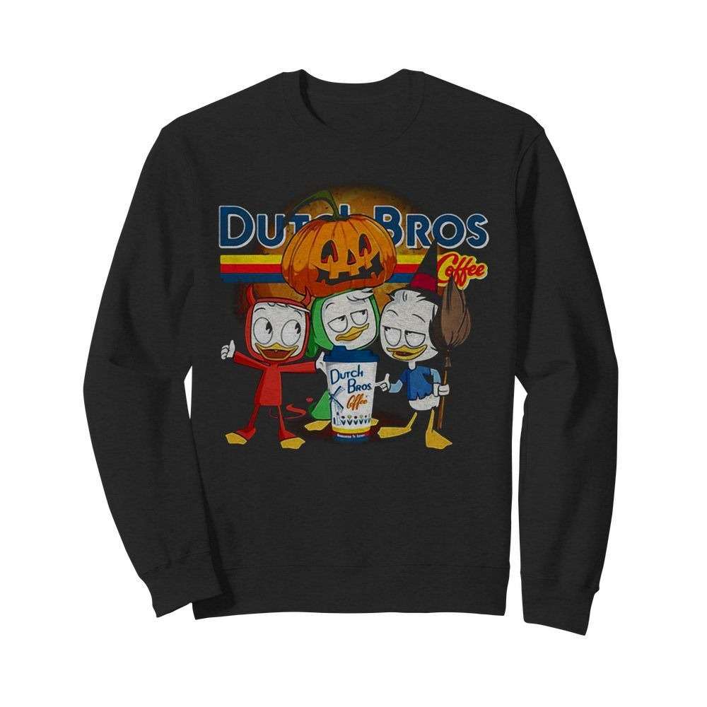 Dutch Bros Coffee Three Caballeros Halloween version Sweater