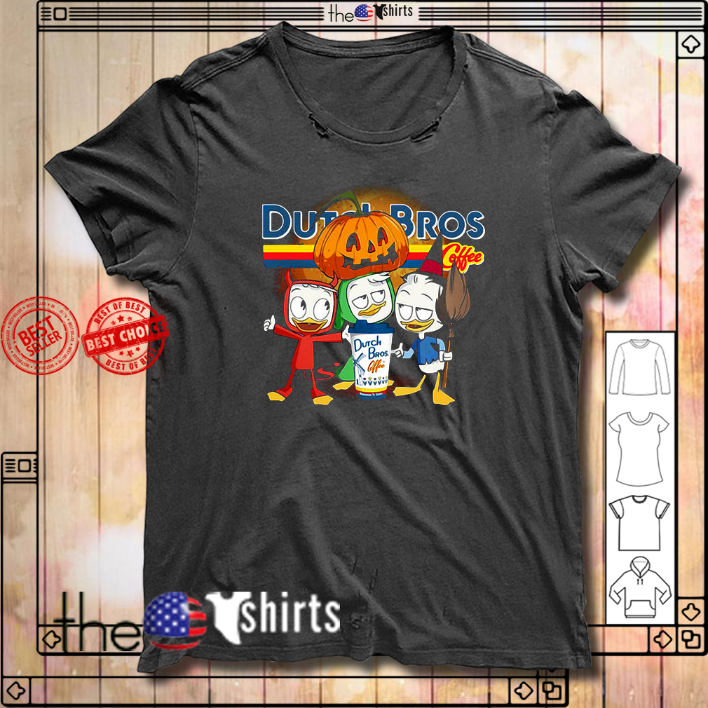 Dutch Bros Coffee Three Caballeros Halloween version shirt