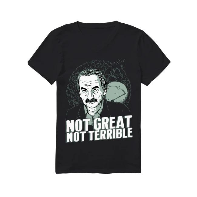 Dyatlov Disaster Not Great Not Terrible V-neck T-shirt