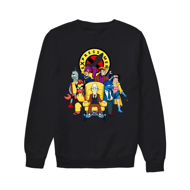 Express Men Mashup Sweater