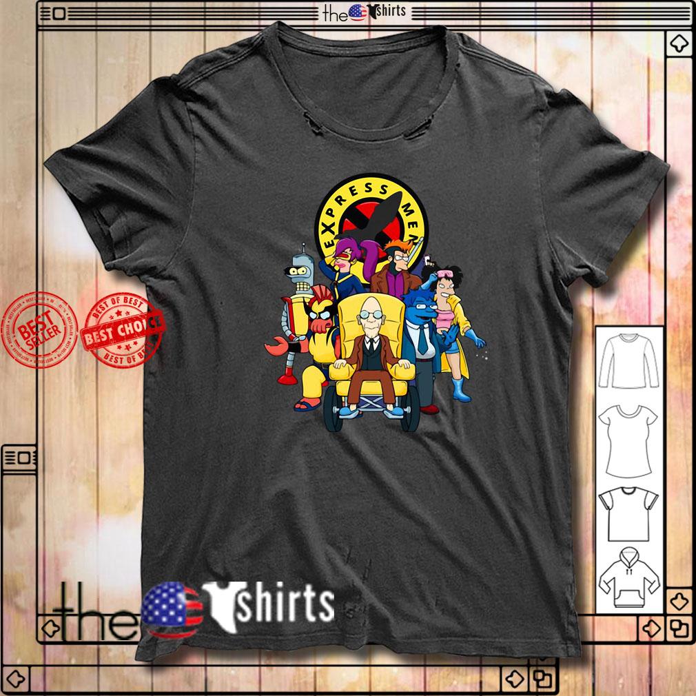 Express Men Mashup shirt