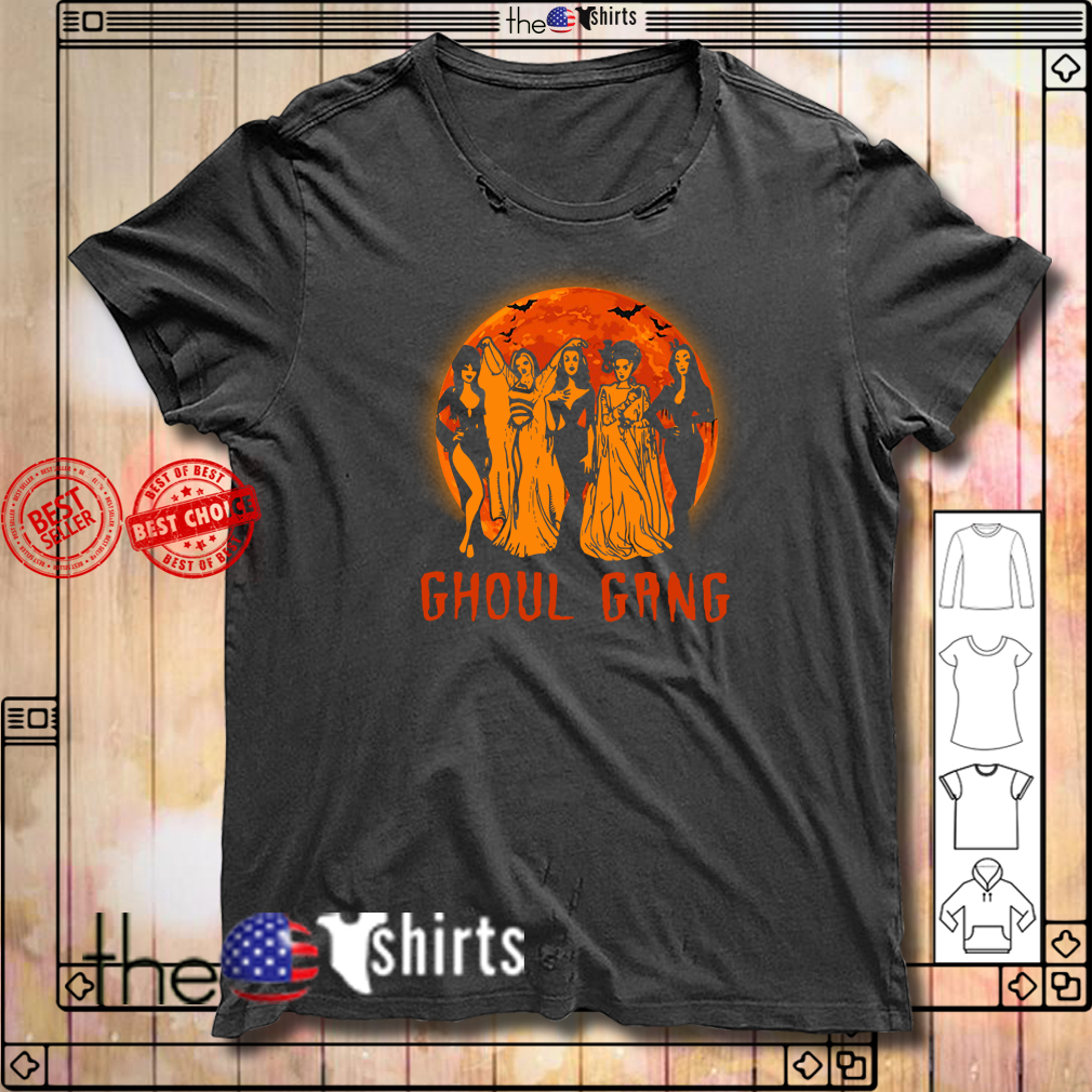 Ghoul Gang Halloween sunset shirt